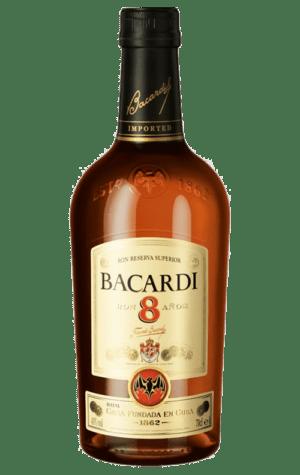 Bacardi 8 YO Amber Rum 750ml