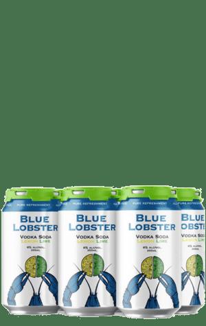Blue Lobster Lemon Lime 6x355ml