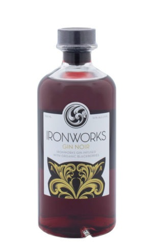 This is an image of Ironworks Gin Noir