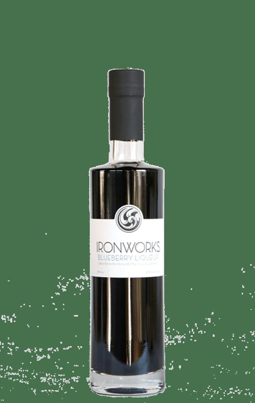 Ironworks Blueberry Bottle 375ml