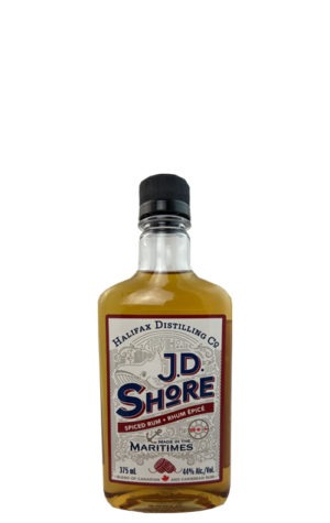 This is an image of JD Shore Spiced Rum 375ml