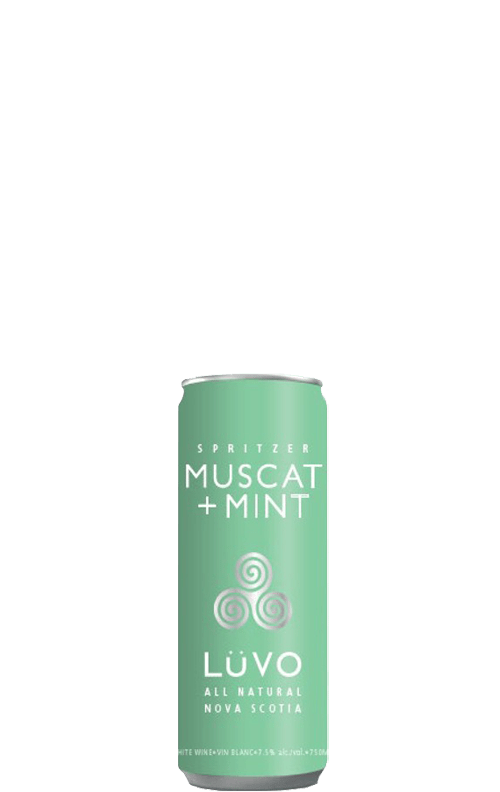 Luvo Muscat + Mint Can 250ml