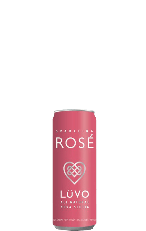 Luvo Rosé Can 250ml