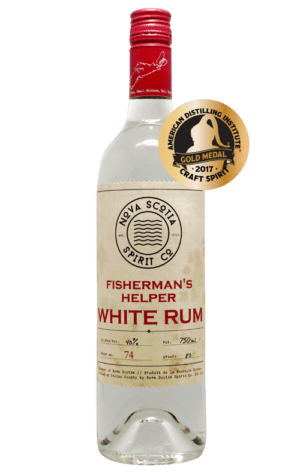 NS Spirit Fisherman's Helper White Rum 750ml