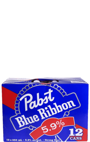 Pabst Blue Ribbon 5.9 12x355ml