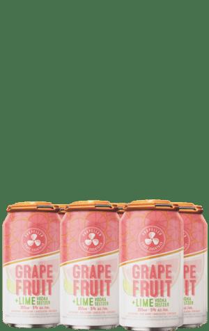 Propeller Grapefruit & Lime Vodka Seltzer 6x355ml