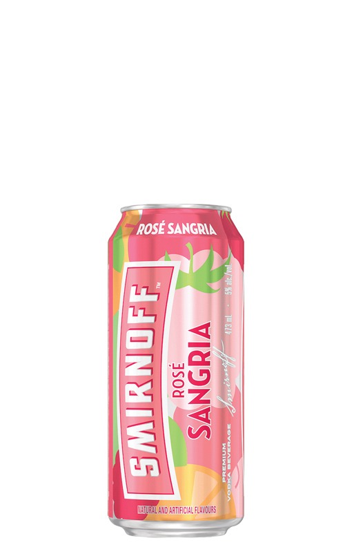 This is an image of Smirnoff Rose Sangria