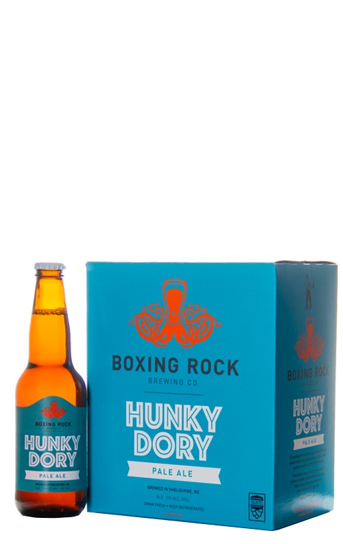 A product image for Boxing Rock Hunky Dory 6x341ml