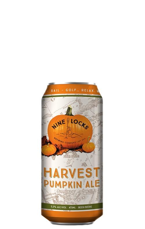 A product image for Nine Locks Harvest Pumpkin