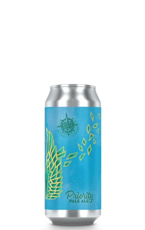 This is an image of North Brewing Priority Pale Ale 473ml