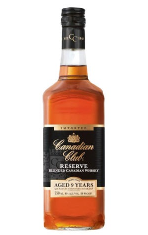 A product image for Canadian Club Reserve 9YO