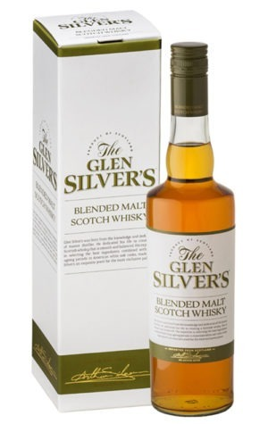 This is an image of Glen Silver Blended Scotch Whisky 3YO
