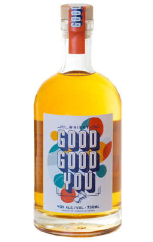 This is an image of Good Good You whisky 750ml