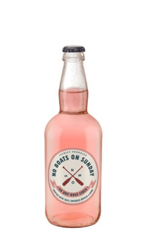 This is an image of No Boats on Sunday Rose Cider