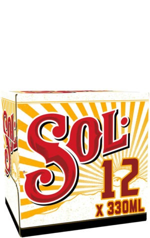 Sol Lager 12x330ml