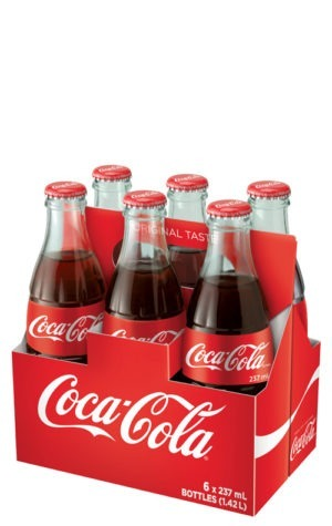 This is an image of Coca-Cola 237ml 6pk