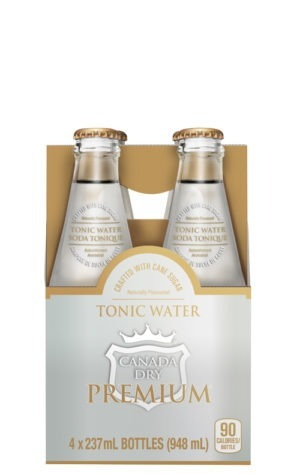 This is an image of Canada Dry Premium Tonic 237ml 4pk