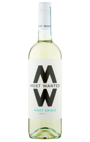 This is an image of Most Wanted Pinot Grigio