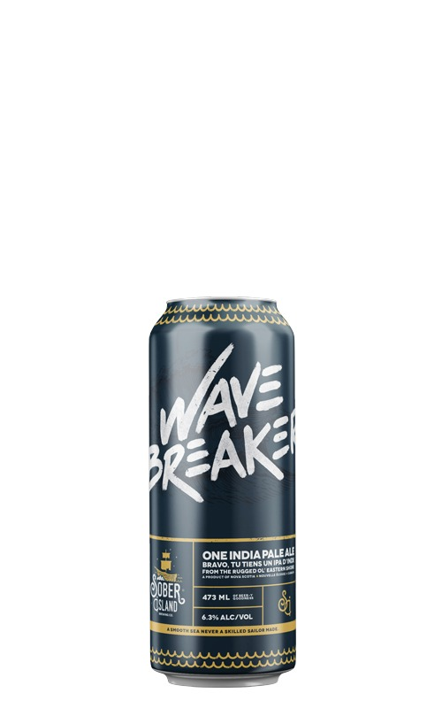 This is an image of Sober Island Wave Breaker IPA