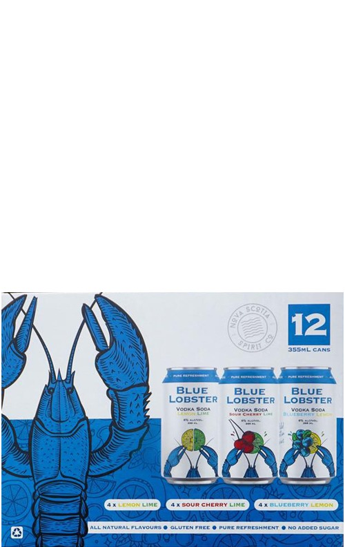 Blue Lobster Mixed Pack 12x355ml