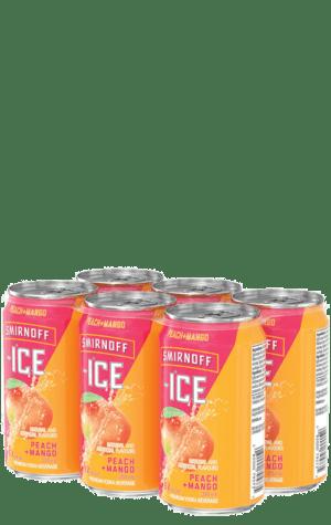 Smirnoff Ice Peach & Mango 6x355ml