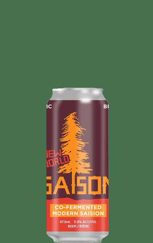 Big Spruce New World Saison Can 473ml