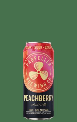 Propeller Peachberry Sour Can 473ml