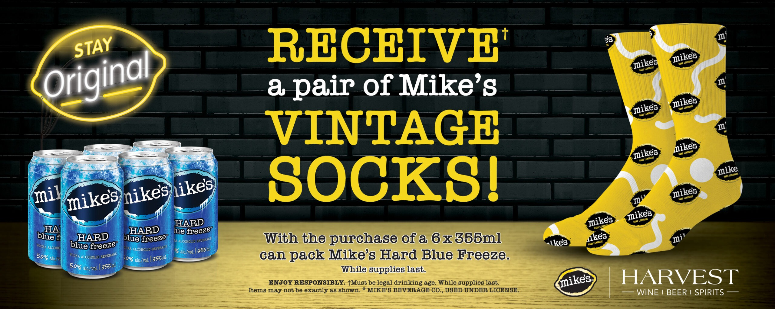 Mike's Blue Freeze Promo