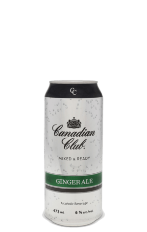 Canadian Club & Ginger Can 473ml