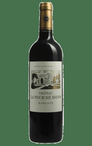 Chateau Tours de Mons Margaux 750ml