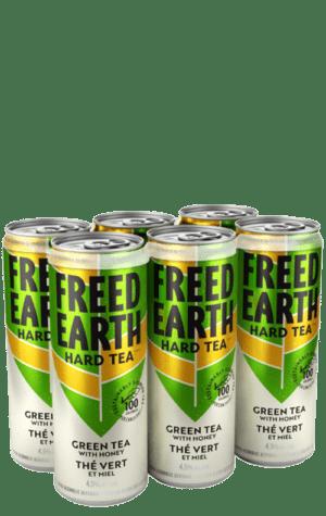 Freed Earth Green Tea Honey Can 6x355ml