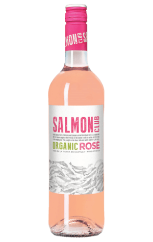 Salmon Club Organic Rose Bottle 750ml