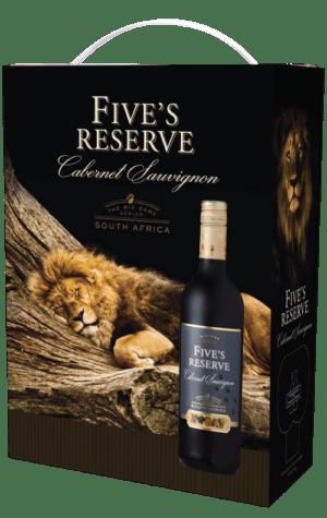 Five's Reserve Cabernet Sauvignon 3000ml