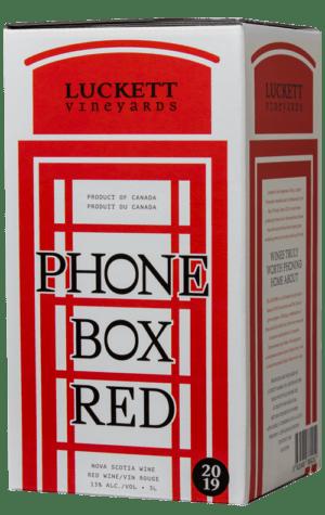 Luckett Phone Box Red 3000ml