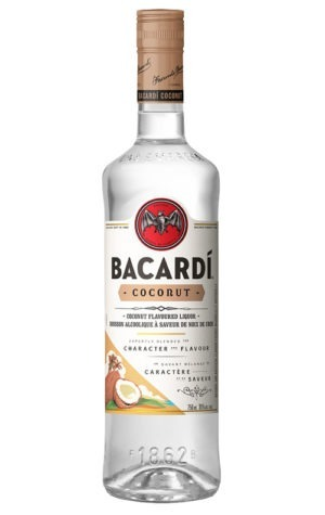 This is an image of Bacardi Coconut