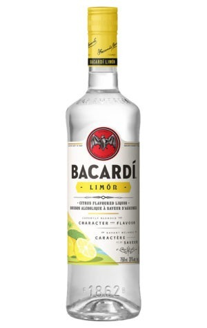 This is an image of Bacardi Limon