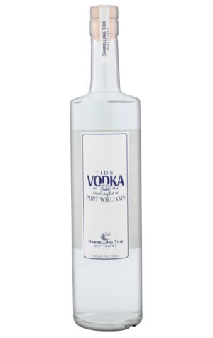 This is an image of Barrelling Tide Vodka