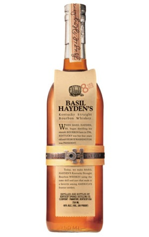 This is an image of Basil Haydens Kentucky Bourbon