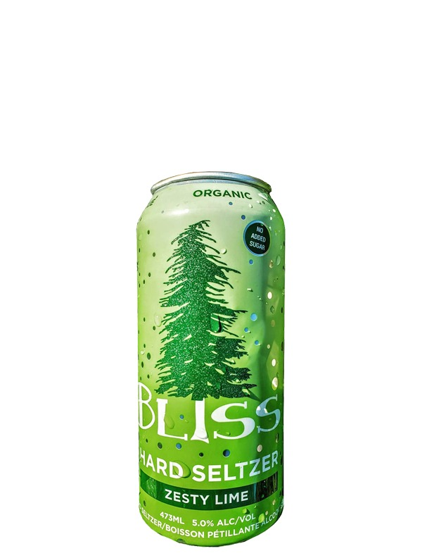 A product image for Bliss Zesty Lime Hard Seltzer