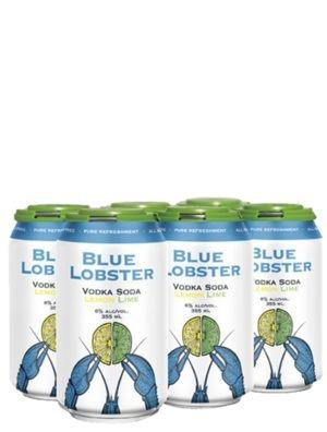 A product image for Blue Lobster Lemon Lime 6pk