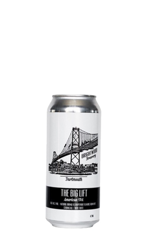 A product image for Brightwood Big Lift IPA 473ml
