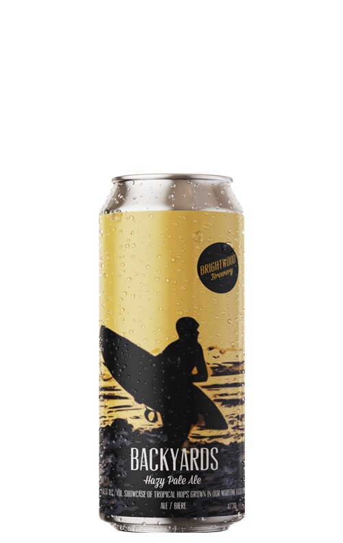 A product image for Brightwood Backyards Pale Ale