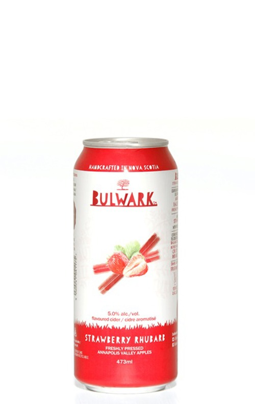 A product image for Bulwark Strawberry Rhubarb 473
