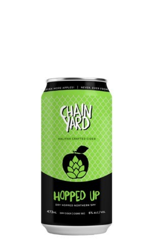 A product image for Chain Yard Hopped Up Cider