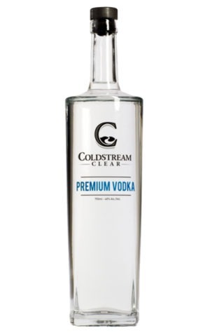 This is an image of Coldstream Clear Premium Vodka