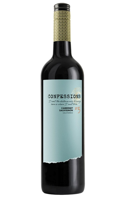 This is an image of Confessions Cabernet Sauvignon
