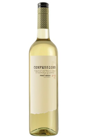 A product image for Confessions Pinot Grigio