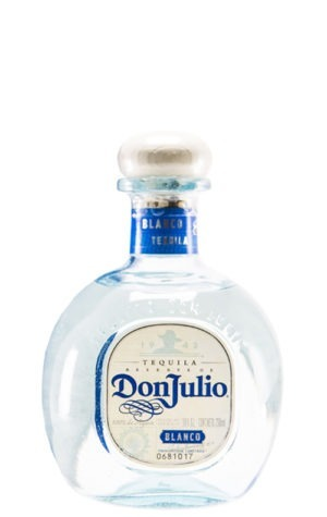 This is an image of Don Julio Blanco Tequila