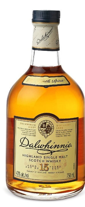 This is an image of Dalwhinnie 15 YO