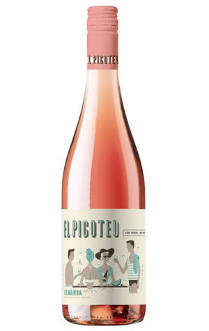This is an image of El Picoteo Organic Rosé